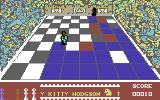 The Chess Game Commodore 64 Avoid the Knight and red squares