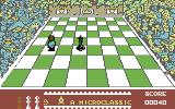 The Chess Game Commodore 64 Bishop to battle next