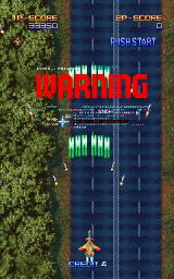 Macross Plus Arcade Warning