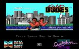 Bad Dudes DOS Title screen (EGA)