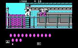 Bad Dudes DOS The first level boss (CGA)