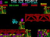 The Ice Temple ZX Spectrum Take a bomb