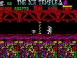 The Ice Temple ZX Spectrum Electric barrier