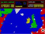 Wulfpack ZX Spectrum World map
