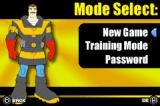 Rescue Heroes: Billy Blazes Game Boy Advance Mode Select