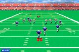 NFL Blitz 20-02 Game Boy Advance Running with the ball