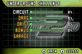 Need for Speed: Underground 2 Game Boy Advance Underground Challenge