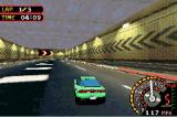 Need for Speed: Underground 2 Game Boy Advance Driving through a tunnel