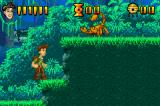 Pitfall: The Lost Expedition Game Boy Advance Kill the scorpion