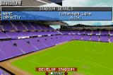 Premier Manager 2003-04 Game Boy Advance Stadium details