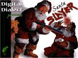 Santa Slayer Windows Title screen