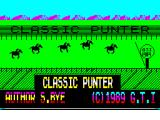 Classic Punter ZX Spectrum Loading Screen