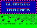 Classic Trainer ZX Spectrum Loading Screen