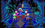 Disney's Duck Tales: The Quest for Gold DOS Navigating the caverns