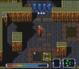 Operation Logic Bomb SNES The spread weapon hits all these turrets at once