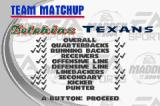 Madden NFL 2004 Game Boy Advance Team matchup