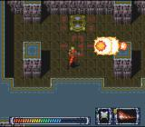 Operation Logic Bomb SNES The mine weapon has a strong blast