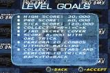 Mat Hoffman's Pro BMX Game Boy Advance Level goals