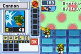 Mega Man Battle Network 4: Blue Moon Game Boy Advance Preparing for the fight.