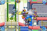 Medabots AX: Rokusho Ver. Game Boy Advance Robattle at the Factory.