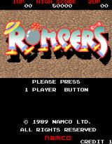 Rompers Arcade Title Screen