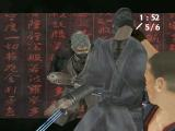 Tenchu: Return from Darkness Xbox Rikimaru and Tesshu perform a dual stealth kill in an Xbox Live co-op game.