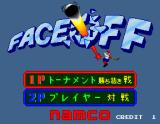 Face Off Arcade Title Screen
