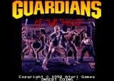 Guardians of the 'Hood Arcade Title Screen