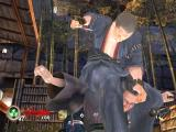 Tenchu: Return from Darkness Xbox Tesshu the doctor is about to puncture this Ronin in the new single player Samurai Mansion stage.