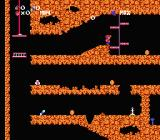 Spelunker NES Moving little platforms