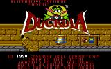 Count Duckula in No Sax Please - We're Egyptian Amiga Title screen 1