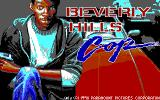 Beverly Hills Cop DOS EGA Title Screen