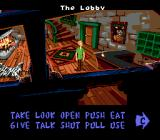 Scooby-Doo Mystery Genesis The lobby of the hotel