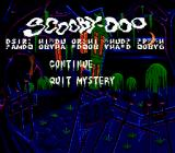Scooby-Doo Mystery Genesis Game progress is restored by the password