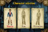 Harry Potter and the Goblet of Fire Game Boy Advance Character Selection