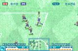 International Superstar Soccer Advance Game Boy Advance Running into the box