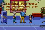 Jackie Chan Adventures: Legend of the Dark Hand Game Boy Advance Outside on the street