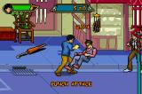 Jackie Chan Adventures: Legend of the Dark Hand Game Boy Advance Punched him to the floor