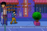 Jackie Chan Adventures: Legend of the Dark Hand Game Boy Advance Getting further down the street