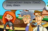 Kim Possible 3: Team Possible Game Boy Advance Welcome home