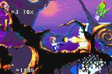 Earthworm Jim 2 Game Boy Advance Using your gun