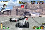 F1 2002 Game Boy Advance Trying to pass the traffic