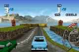 Ford Racing 3 Game Boy Advance Taking a jump
