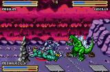 Godzilla: Domination! Game Boy Advance Both of you knocked down