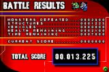 Godzilla: Domination! Game Boy Advance Battle results