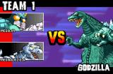 Godzilla: Domination! Game Boy Advance Two against one