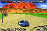 GT Advance 2: Rally Racing Game Boy Advance Taking a bend