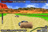 GT Advance 2 Rally Racing Game Boy Advance Wheel spin