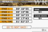 GT Advance 2: Rally Racing Game Boy Advance Round result