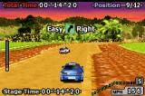 GT Advance 2: Rally Racing Game Boy Advance Car ahead to overtake